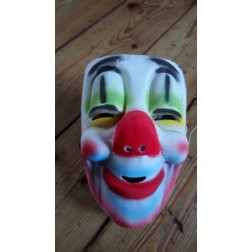 Clownmaske aus Gaze